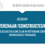 Functienaam: Tekenaar / Constructeur Standplaats: Rotterdam trefwoord: WTB, elektro, civiel, constructie, electro, tekenaar, starter, AutoCAD